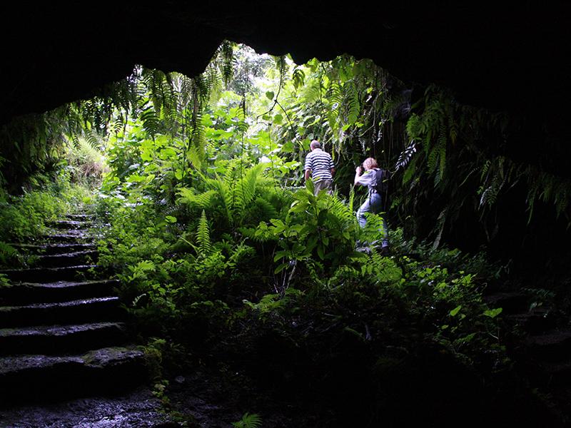 tuneles de lava