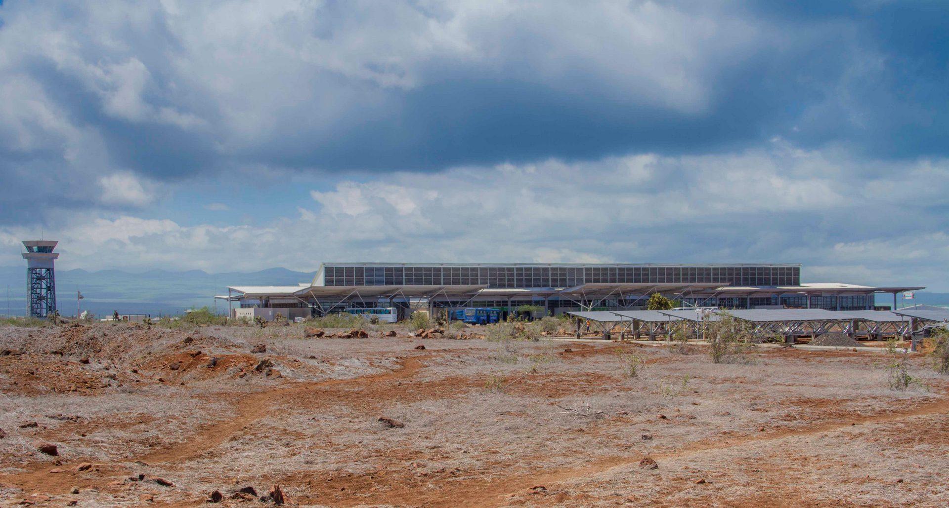 aeropuerto en baja